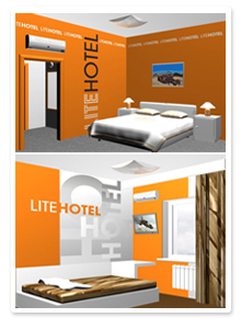 Дизайн-проект интерьера гостиницы