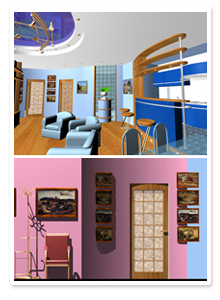 Дизайн-проект реконструкции квартиры на ул. Мира