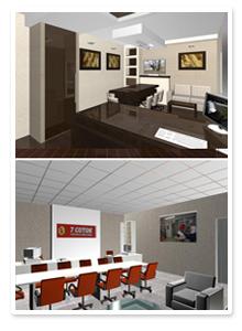 Дизайн-проект офиса компании 7-соток