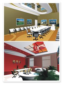 Дизайн-проект офиса Волгомолторг