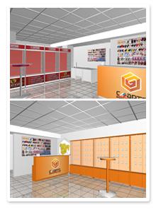 Дизайн-проекты офисов продаж СМАРТС