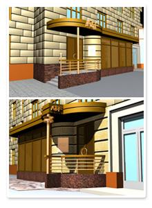Проект входной группы магазина_2