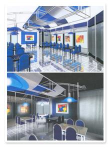 Дизайн-проект интерьера ресторана