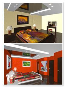 Проект интерьера гостиницы