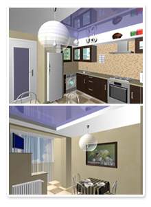 Проект интерьера кухни_1