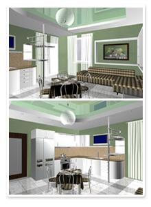 Проект интерьера кухни_2