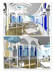 Проект интерьера ресторана_2