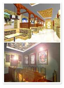Проект интерьера ресторана_3