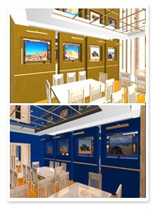Проект интерьера ресторана_4