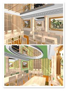 Проект интерьера ресторана_5