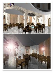 Проект интерьера ресторана_8