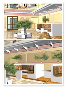 Проект интерьера ресторана_9