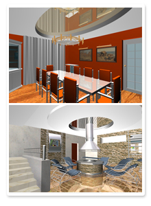 Проект интерьеров частного дома_3