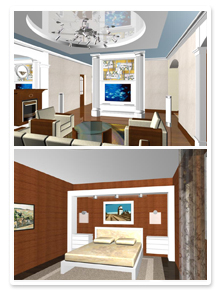 Проект интерьеров частного дома_4
