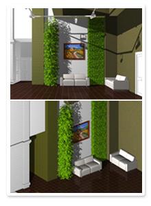 Дизайн-проект вертикального озеленения